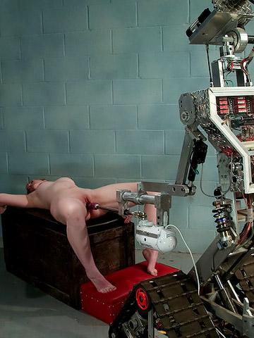маялся порно с робот машинами очень